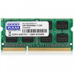 GRAM DDR3 2GB 1600MHz SODIMM