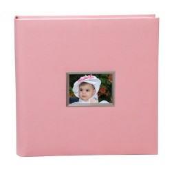 Αλμπουμ βάπτισης ροζ 32Χ32  40 φύλλων