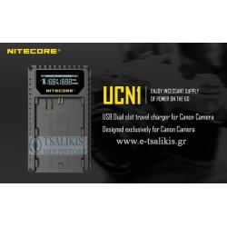 ΦΟΡΤΙΣΤΗΣ NITECORE UCN1 για CANON