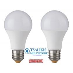 ΛΑΜΠΕΣ LED E27 8W (2TEM)
