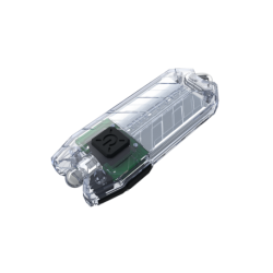 ΦΑΚΟΣ LED NITECORE TUBE, Μπρελόκ, Rechargable-TRANSPARENT